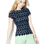 Embroidered Lace Top, $129