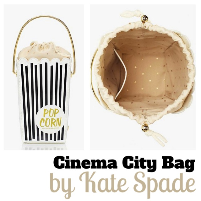 kate spade popcorn bag edit