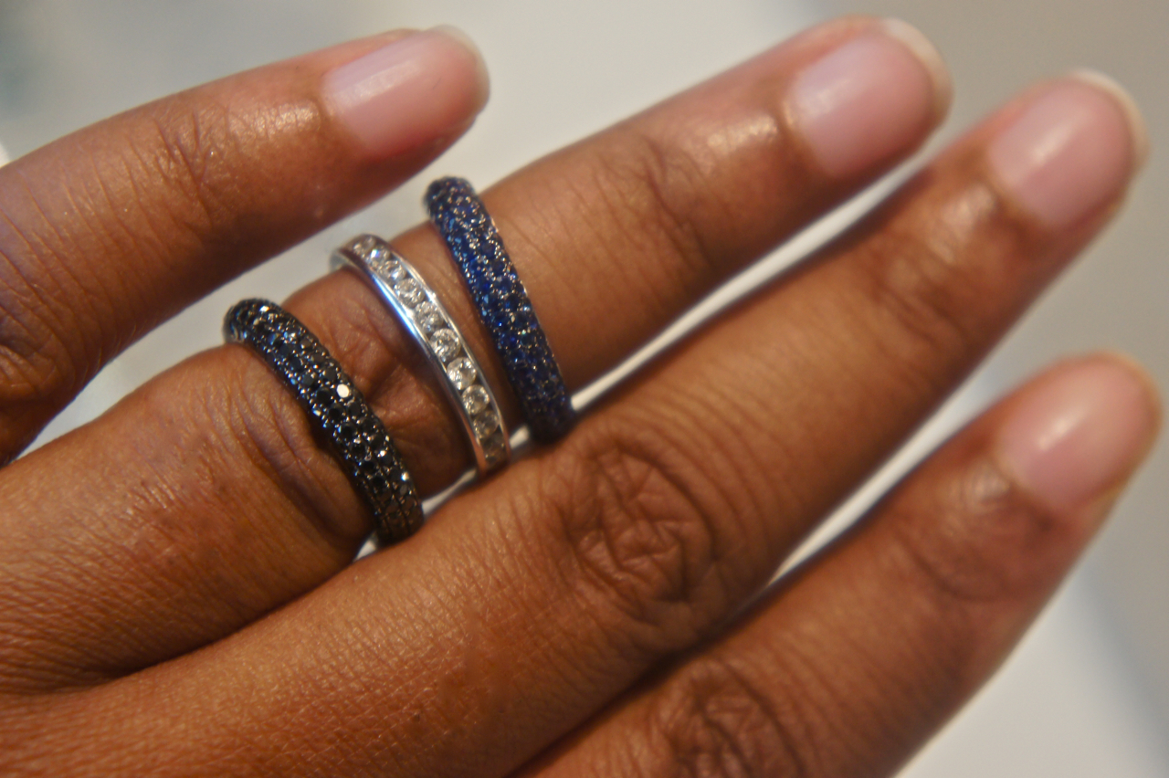 Celebration Rings  Buy Stack Ring Online  MichaelHillcom