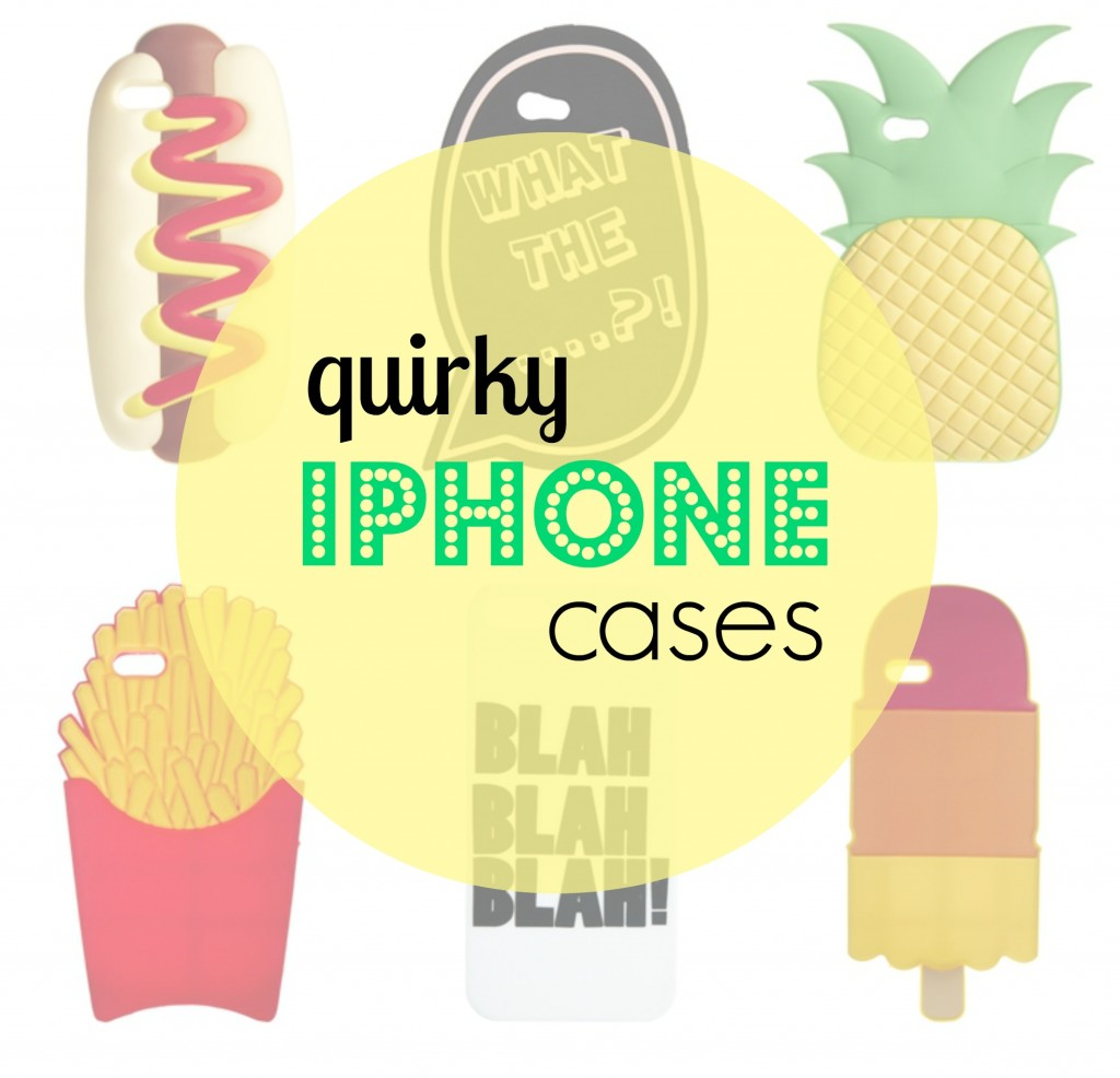 ASOS iPhone Cases Food Blah Fries Hot Dog