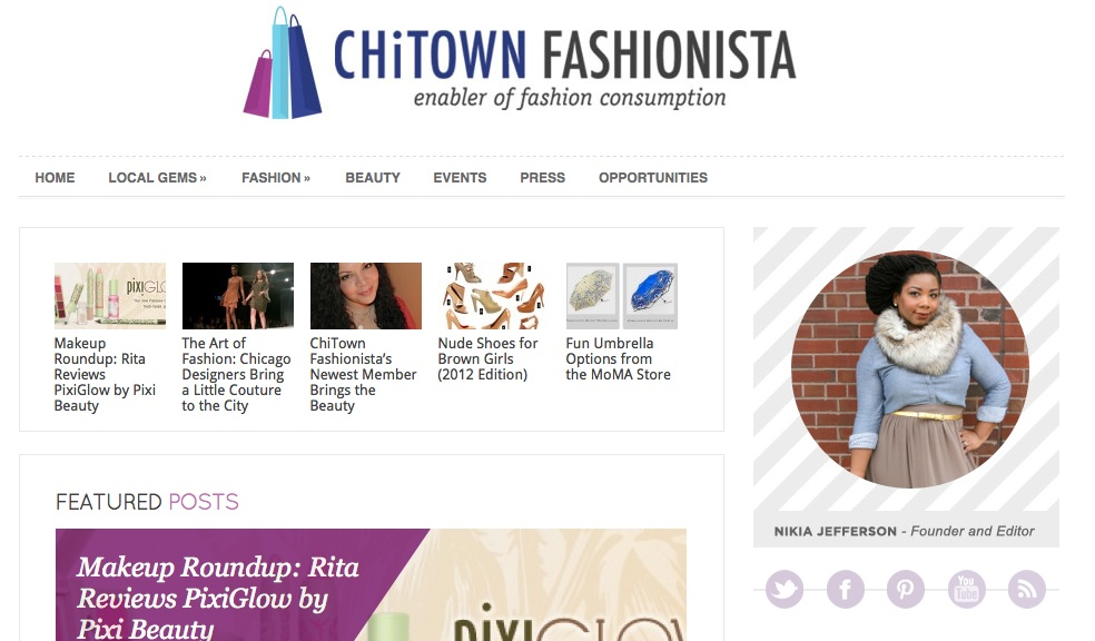 chitownfashionista new site